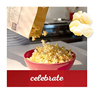 Celebrate with gourmet microwave popcorn with Orville Redenbacher's