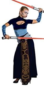 Women's Clone Asajj Ventress Costume