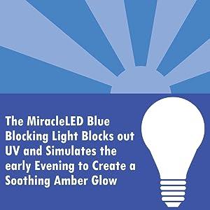 MiracleLED, miracle, led, light, blue