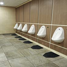 CleanShield, restroom mats, urinal, commode, safe, clean, comfortable, sanitary, anti-microbial