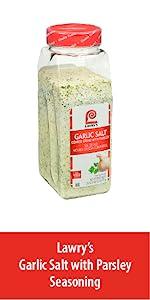 Garlic Salt with Parsley Seasoning