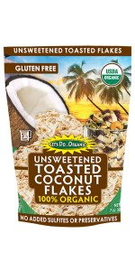 Lets Do Organic Toasted Coconut Flakes