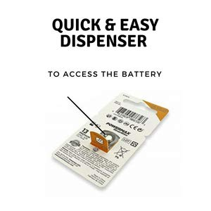easy to open package earing with extra signia hörgeräte batterien hering bernafon bateries batteroes