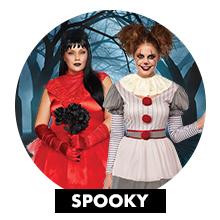 spooky creepy costumes