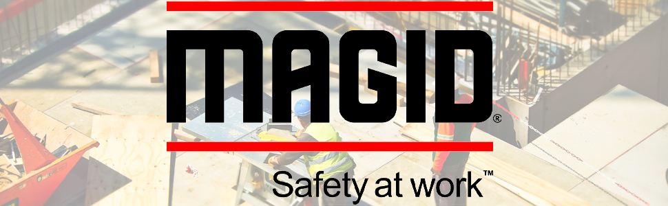 Magid, Safety, Work, Black, Red, Background Image