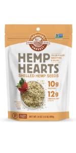 manitoba harvest hemp yeah granola bars hearts oil softgels protein fiber organic vegan gluten free
