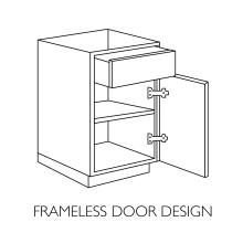 frameless door design