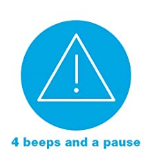 4 beeps and a pause