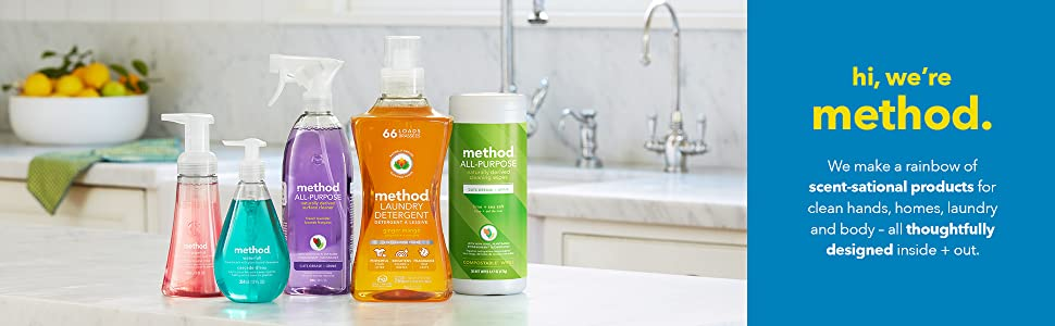 method cleaning supplies, method household supplies, cleaning supplies