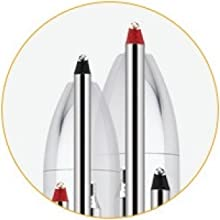 black ballpoint, red ballpoint, multi-function pen