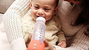 BlueSmart, baby, smart bottle feeding, smart baby bottle, bottle feeding, baby journal, baby feeding