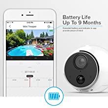 battery camera, wire free camera, wireless camera, security camera, wireless security camera