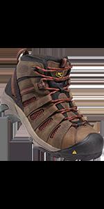 mens flint mid steel toe safety footwear work boot