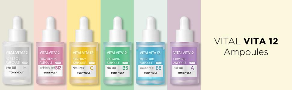 vital vita ampoules kbeauty korean skincare