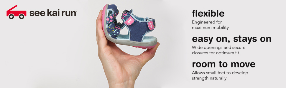 Flexible shoes, easy on kids shoes