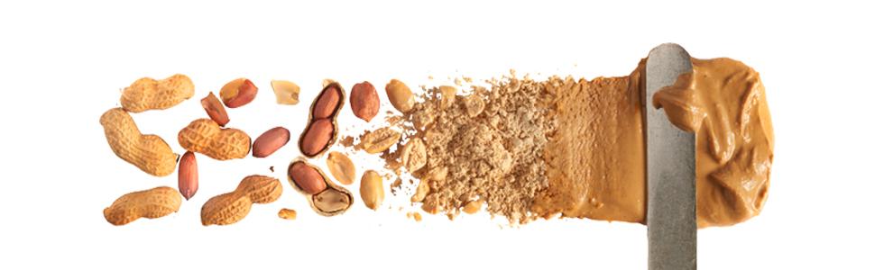 peanut butter spread, peanut butter powder