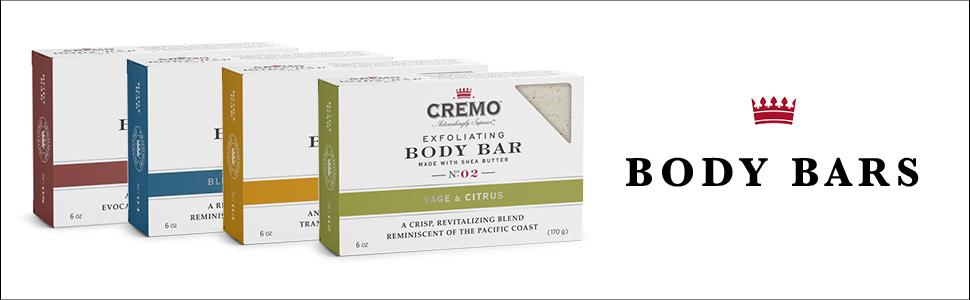 soap, cremo, body
