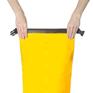 1. Fold stiffener once around opening.