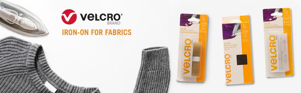Velcro Iron-On, Iron-On Fastener, Iron-On Adhesive