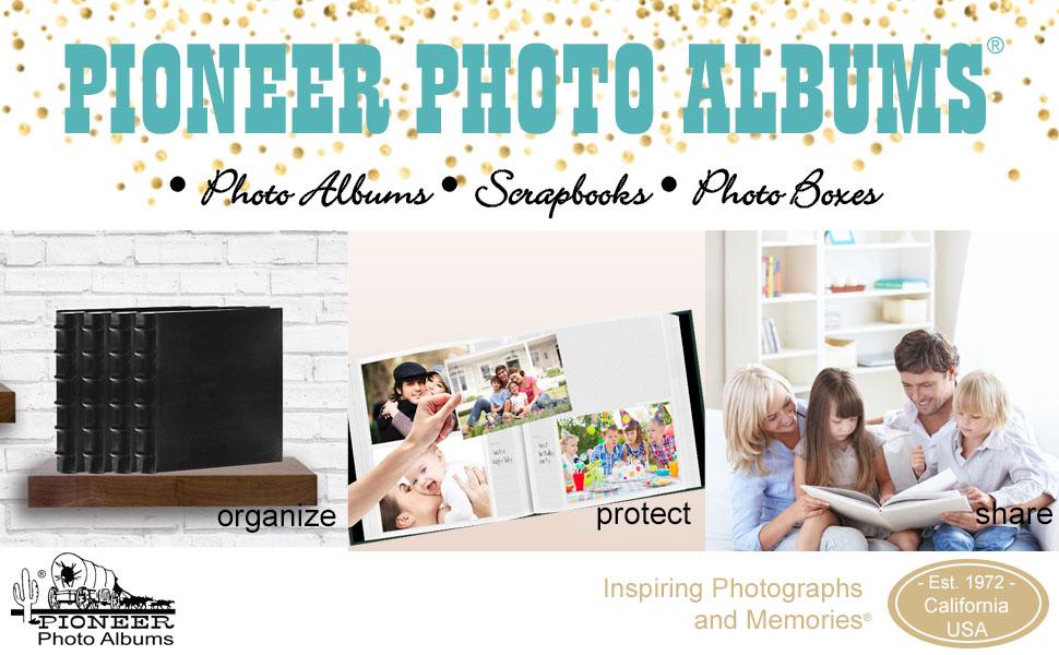 Pioneer Photo Albums A+ Content Header