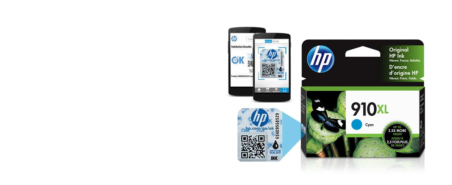 counterfeit, fake security, fraud, HP original products, HP security label products