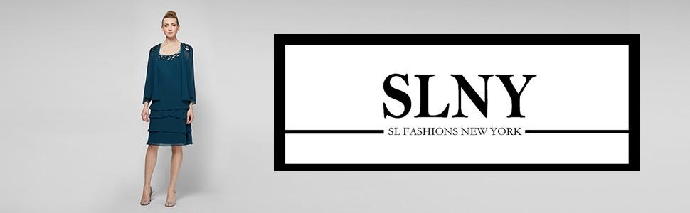 SL Fashions Tier Dress with Jacket