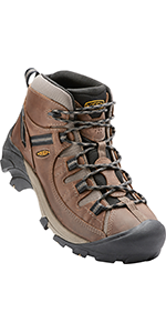 men's waterproof hiking boots mid-height comfortable leather durable breathable outdoor hombres