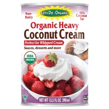 Let's Do Organic Heavy Coconut Cream