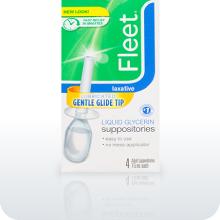 Fleet Liquid Glycern Suppositories