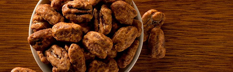 Salted Caramel Pecans