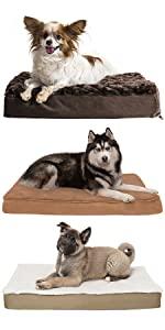 furhaven; dog; cat; pet; bed; mattress; orthopedic; memory; gel
