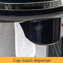 cup-touch open