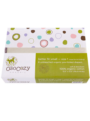 osocozy organic prefolds