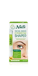 nads hair removal natural facial wand eyebrow shaper