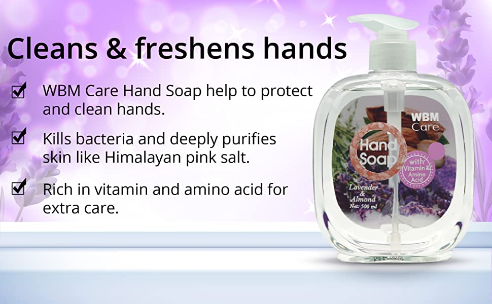 hand soap, liquid hand soap, natural hand soap, natural lavender hand soap, hand wash
