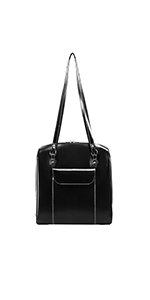 "15"" Leather Ladies' Laptop Briefcase"