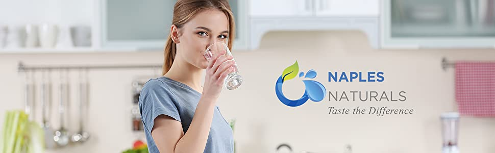 Naples Naturals Alkaline Water Filter Alkaline Water Pitcher Water Filtration