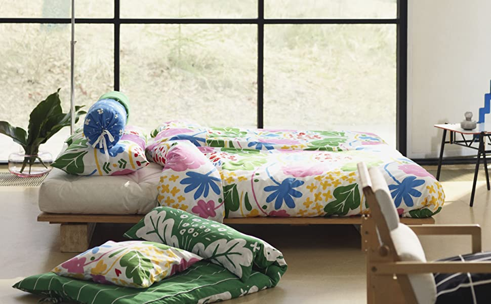 Marimekko bedding;Marimekko;modern bedding;cotton bedding;cotton sheets;queen sheets;cotton duvet