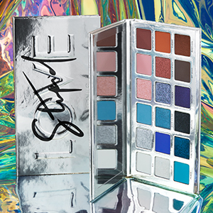 Haus Laboratories BEAUTY Lady Gaga hauslabs lady gaga eyeshadow stupid love eyeshadow palette blue