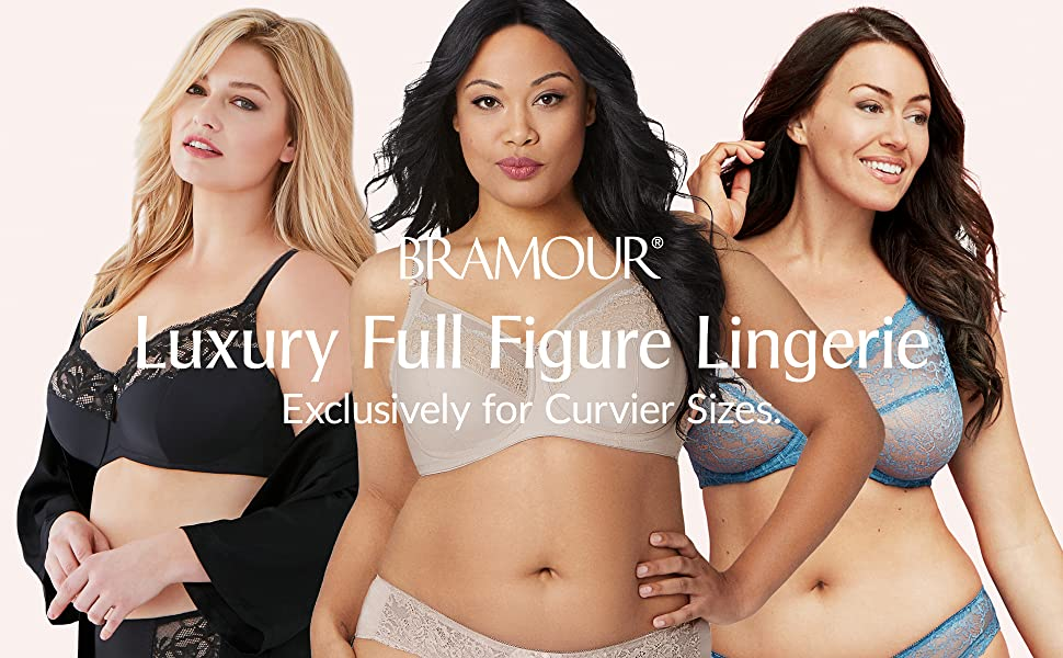 bramour luxury lingerie full figure support glamorise soho noho tribeca chelsea brooklyn madison