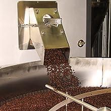 roaster roasting beans dark medium light process coffee whole