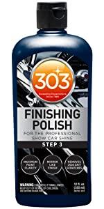 303 finishing polish, car care, car care kit, auto detailer, car detailer, speed detailer, car wax