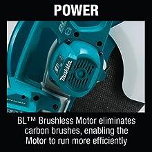 power BL brushless motor eliminates carbon brushes enagling moto efficiently