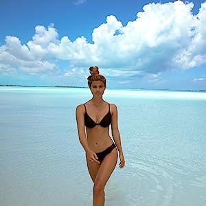 sun, sand sexy bikini, vacation, water sports