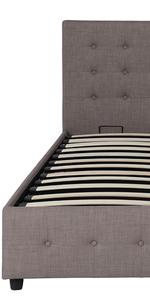 bed;metal bed;upholstered bed;bed frame
