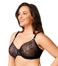 GF6781A, OLGA BRAS, plus size lace bras, underwire bras, no side effects bra