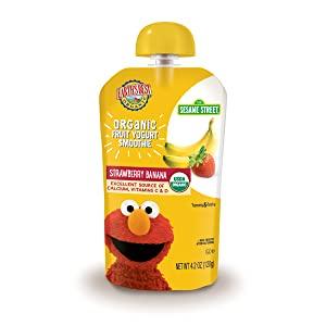 Earth's Best Organic Fruit Yogurt Smoothie, Strawberry Banana