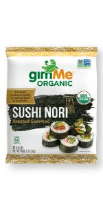 Sushi Nori package