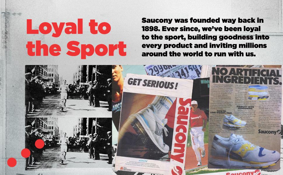 Loyal, history, brand, Saucony