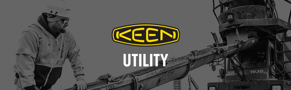 KEEN Utility work boot contruction men's